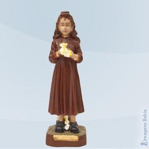 Imagem de Santa Izildinha em resina