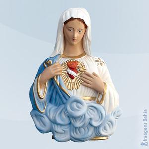Coração de Maria busto, 30cm