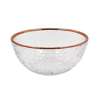 Bowl de Vidro Rosé