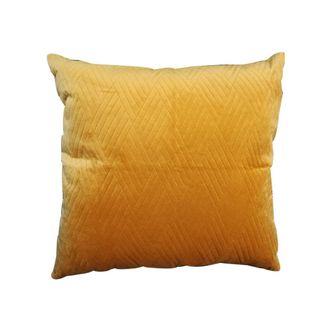 Almofada de Veludo Amarelo