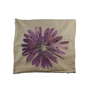 Capa Para Almofada Flor - Lilás