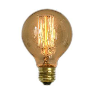 Lampada Retro Filamento Carbono G80 GMH 40W 110V E27