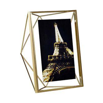 Porta Retrato Prisma Ouro 13x18