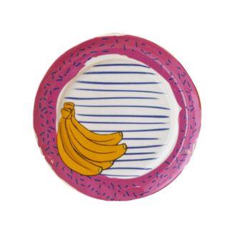 Prato Banana Cerâmica