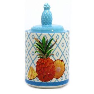 Potiche Porcelana Abacaxi Colors P