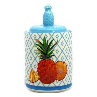 Potiche Porcelana Abacaxi Colors