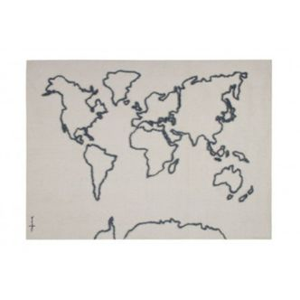 Enfeite de Parede Mapa Mundi