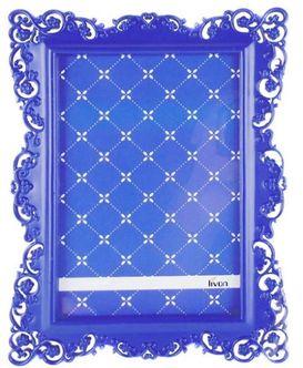Porta Retrato 10x15 Ornamental Azul