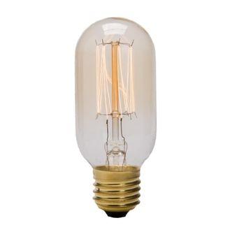 Lâmpada Retrô T45 filamento de Carbono