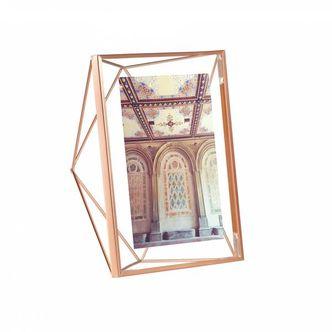 Porta Retrato Prisma Cobre 13x18 cm