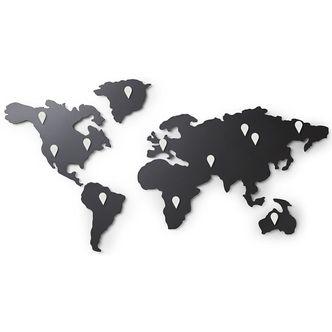 Mapa Mundi Imã para Fotos Parede