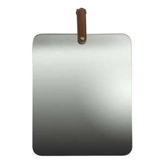 Espelho Vidro Retangular Prata 38 x 28 cm