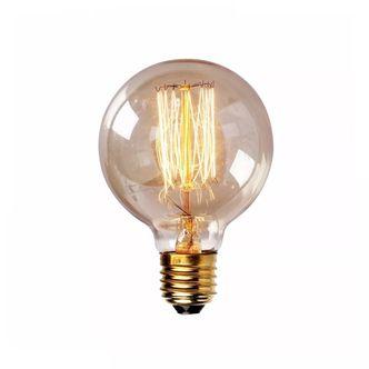 Lampada Retrô Filamento de Carbono L80 GMH 40W 220V E27