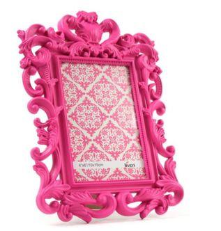 Porta Retrato 10x15 cm Colonial Rosa