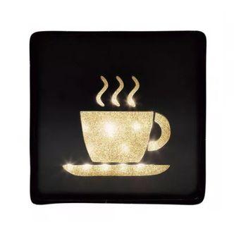 Placa Led - Coffee