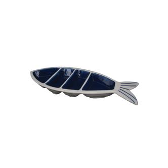 Petisqueira Peixe 3 divisórias