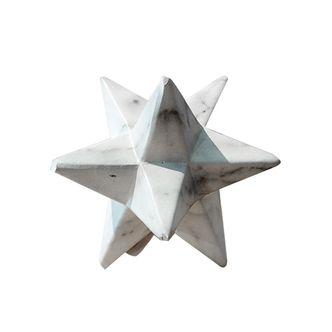 Estrela Marmorizada Cerâmica M