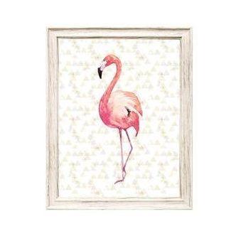 Quadro em Canvas Flamingo 50 x 40cm