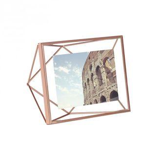 Porta Retrato Prisma Cobre 10x15 cm