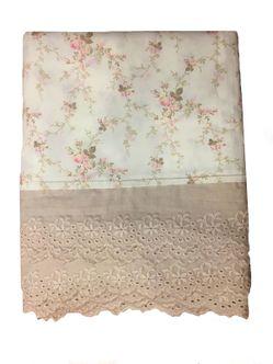 Toalha Linho Floral