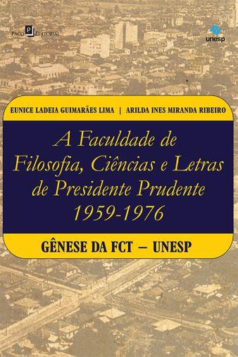A Faculdade de Filosofia, Ciências e Letras de Presidente Prudente (1959-1976)