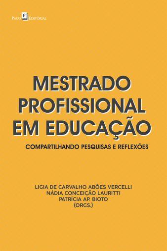 Mestrado profissional em educação