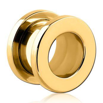 Túnel Rosca Básico Dourado