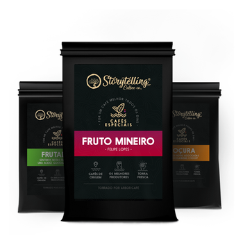 3 pacotes de 250g, Kit Coffeelover Storytelling 3