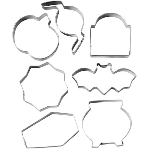 7 Piece Haunted House Cookie Cutter Set - Wilton