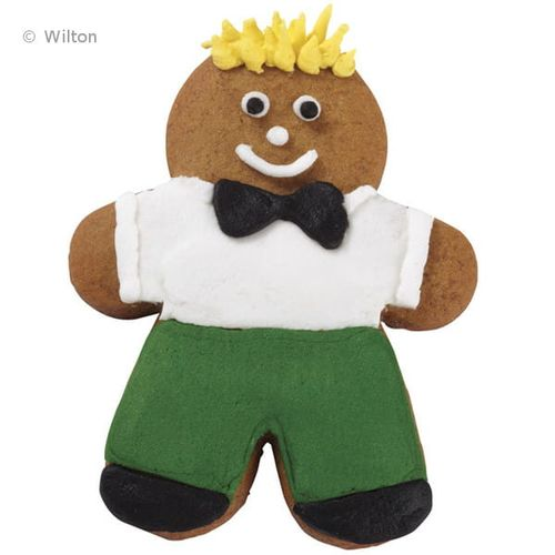 Kit Cortadores Família Gingerbread - Wilton