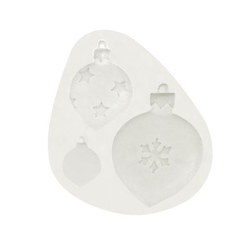 Molde de Silicone Bolas de Natal - Gummies