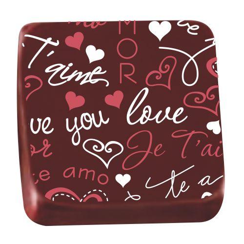 Transfer para Chocolate (40 x 30cm) - Love