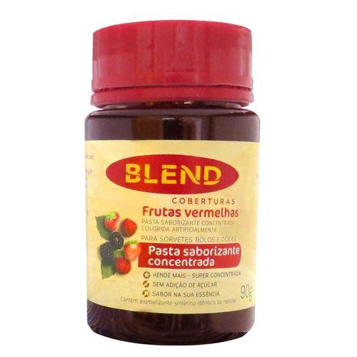 Pasta Saborizante Concentrada de Frutas Vermelhas 90g - Blend