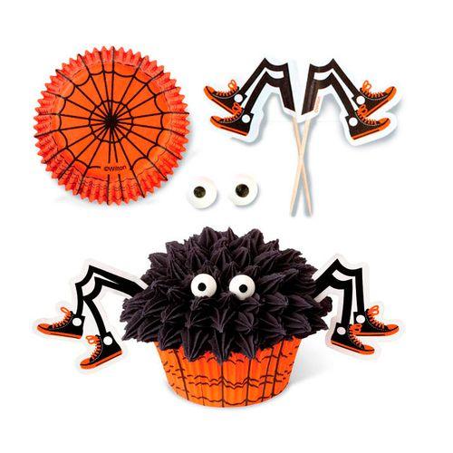 Spooky Pop Spider Cupcake Decorating Set - Wilton