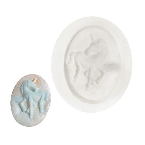 Molde de Silicone Unicórnio 1 - Gummies