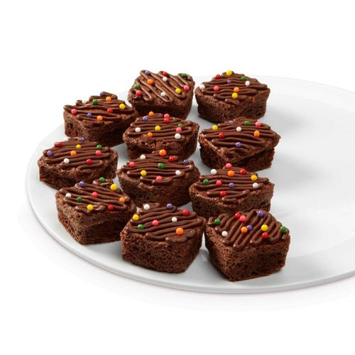 Bite-size Brownie Squares 24-cavity Silicone Mold - Wilton