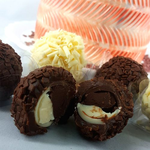 Forma de Chocolate Acetato com Silicone Esfera de 3,0cm - BWB