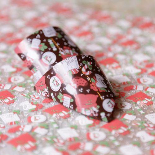 Transfer para Chocolate (40 x 30cm) - Feliz Natal