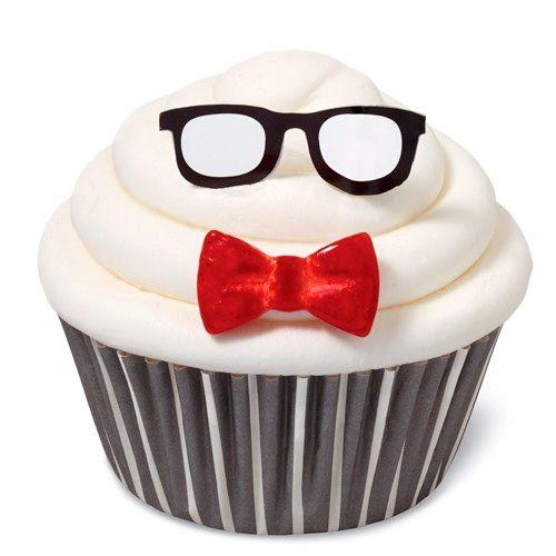 Kit para Decorar Cupcakes Óculos - Wilton