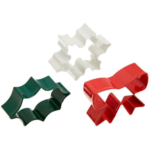Holiday 3pc Cookie Cutter Set - Wilton