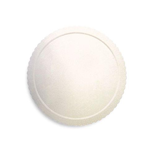 Base para Bolo Cakeboard Redonda Branca 26cm (10uni) – Ultrafest
