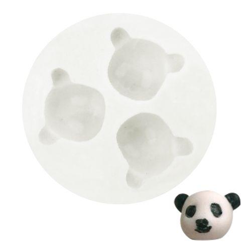 Molde de Silicone Ursinho Panda - Gummies