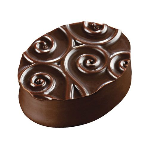 Placa de Textura para Chocolate e Bolo (40 x 30cm) - Pequenos Arabescos