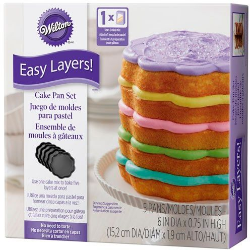 Scalloped Cake Pan Easy Layers - Wilton