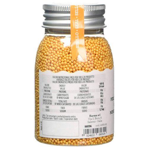 Miçanga Dourada (100g) - Decora