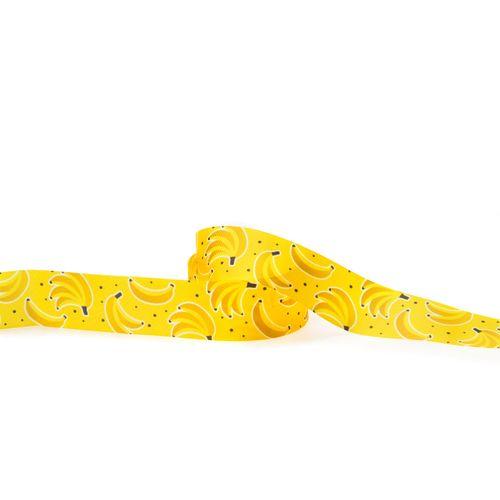 Fita Gorgurão Decorada Bananas (3,8cm x 10m) - Progresso