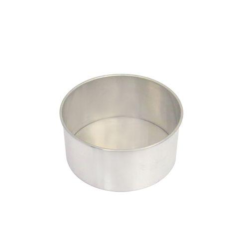 Forma de Bolo Redonda Fundo Falso (23 x 10cm) - Doupan