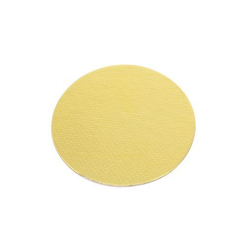 Base Laminada Redonda Dourada para Bolos 15,0cm (10uni)