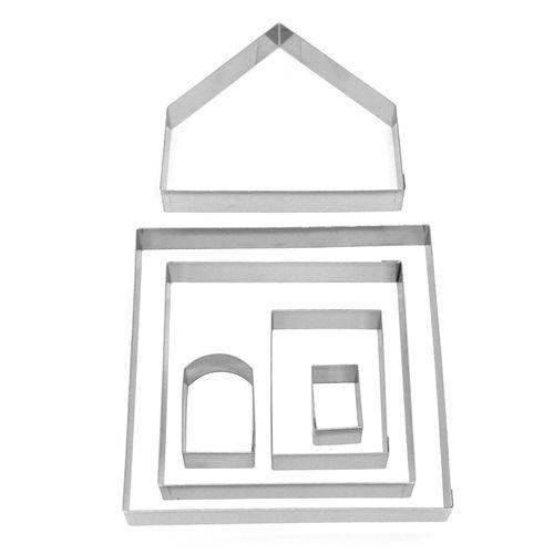 Kit Cortadores - Casa de Gengibre Grande