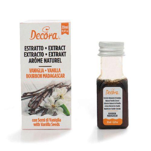 Extrato Aroma de Baunilha (Vanilla) Bourbon Madagascar (20ml) - Decora